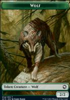 Adventures in the Forgotten Realms Foil: Wolf Token