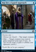 Adventures in the Forgotten Realms Foil: You See a Guard Approach