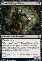Adventures in the Forgotten Realms Foil: Yuan-Ti Fang-Blade