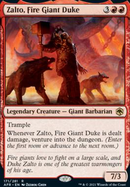 Adventures in the Forgotten Realms: Zalto, Fire Giant Duke
