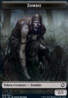Adventures in the Forgotten Realms Foil: Zombie Token