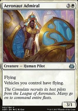 Aether Revolt: Aeronaut Admiral