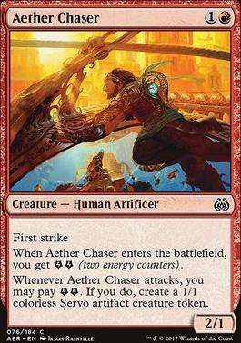 Aether Revolt Foil: Aether Chaser