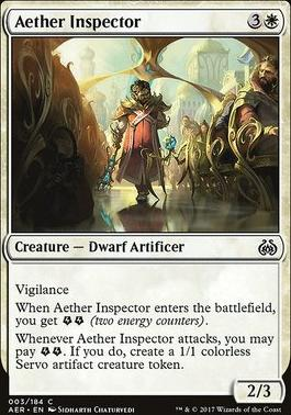 Aether Revolt Foil: Aether Inspector