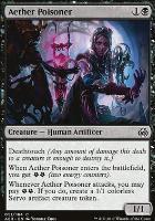 Aether Revolt Foil: Aether Poisoner