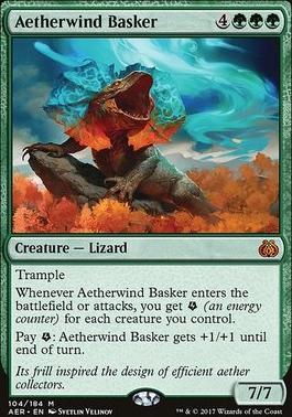 Aether Revolt Foil: Aetherwind Basker