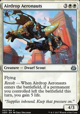 Aether Revolt Foil: Airdrop Aeronauts