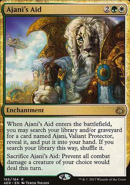 Aether Revolt: Ajani's Aid (Planeswalker Deck)