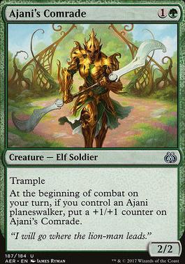 Aether Revolt: Ajani's Comrade (Planeswalker Deck)