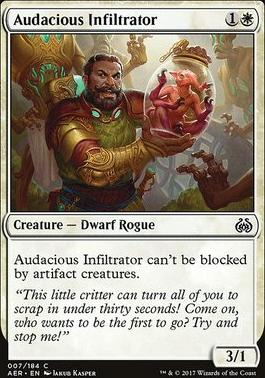 Aether Revolt: Audacious Infiltrator