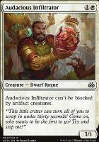 Aether Revolt Foil: Audacious Infiltrator