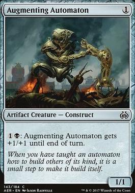 Aether Revolt Foil: Augmenting Automaton