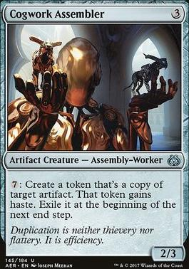 Aether Revolt Foil: Cogwork Assembler