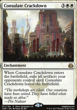 Aether Revolt Foil: Consulate Crackdown