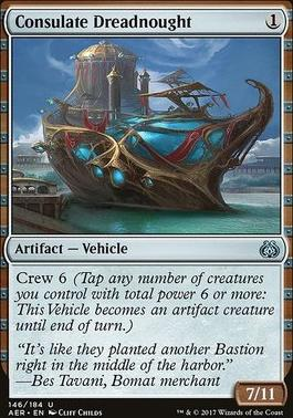 Aether Revolt Foil: Consulate Dreadnought