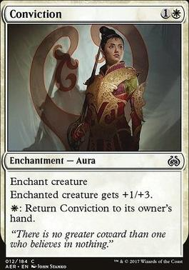 Aether Revolt Foil: Conviction