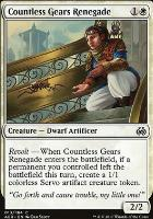 Aether Revolt Foil: Countless Gears Renegade