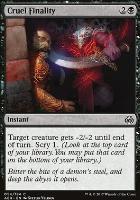 Aether Revolt Foil: Cruel Finality