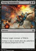 Aether Revolt Foil: Daring Demolition