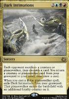 Aether Revolt Foil: Dark Intimations
