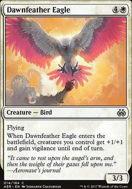 Aether Revolt Foil: Dawnfeather Eagle