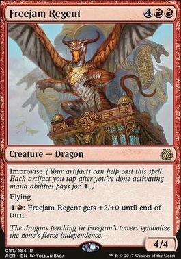 Aether Revolt Foil: Freejam Regent
