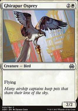 Aether Revolt Foil: Ghirapur Osprey