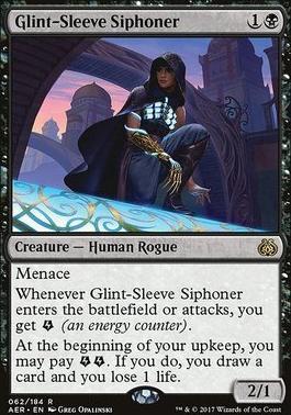 Aether Revolt Foil: Glint-Sleeve Siphoner