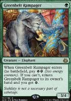Aether Revolt Foil: Greenbelt Rampager