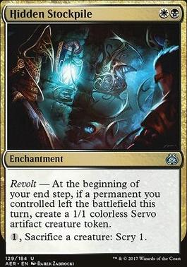 Aether Revolt: Hidden Stockpile