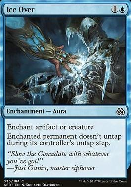 Aether Revolt Foil: Ice Over
