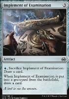 Aether Revolt: Implement of Examination