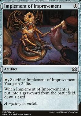 Aether Revolt: Implement of Improvement