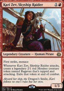 Aether Revolt: Kari Zev, Skyship Raider