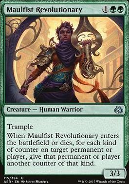 Aether Revolt Foil: Maulfist Revolutionary