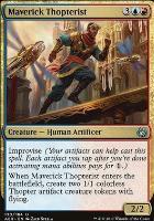 Aether Revolt Foil: Maverick Thopterist