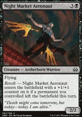 Aether Revolt: Night Market Aeronaut