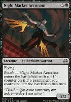 Aether Revolt Foil: Night Market Aeronaut