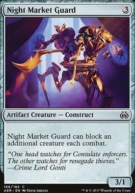Aether Revolt Foil: Night Market Guard