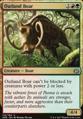 Aether Revolt: Outland Boar
