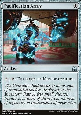 Aether Revolt Foil: Pacification Array