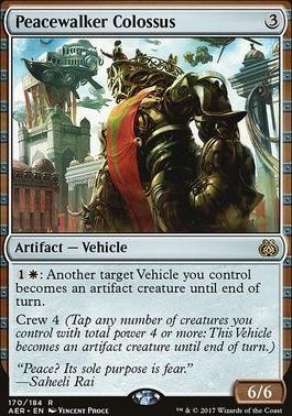 Aether Revolt Foil: Peacewalker Colossus