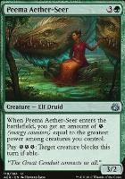 Aether Revolt Foil: Peema Aether-Seer