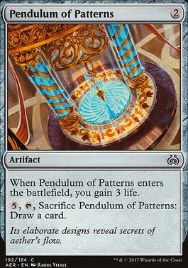 Aether Revolt: Pendulum of Patterns (Planeswalker Deck)