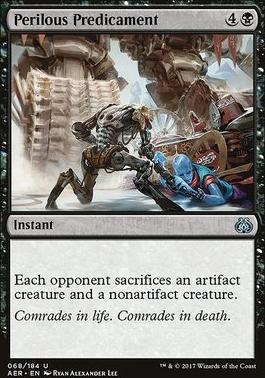 Aether Revolt Foil: Perilous Predicament