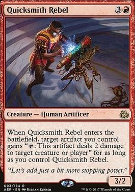 Aether Revolt Foil: Quicksmith Rebel