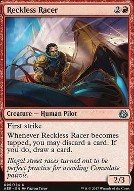 Aether Revolt Foil: Reckless Racer