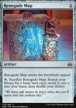 Aether Revolt Foil: Renegade Map