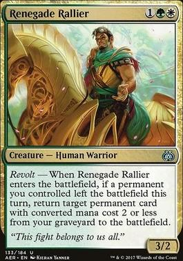 Aether Revolt: Renegade Rallier