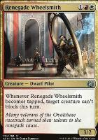 Aether Revolt Foil: Renegade Wheelsmith